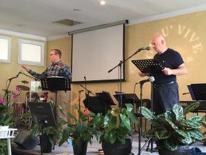 I enjoyed preaching at Punto Lode